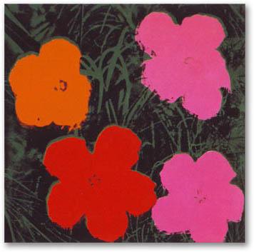 Flowers I(アンディ ウォーホル)