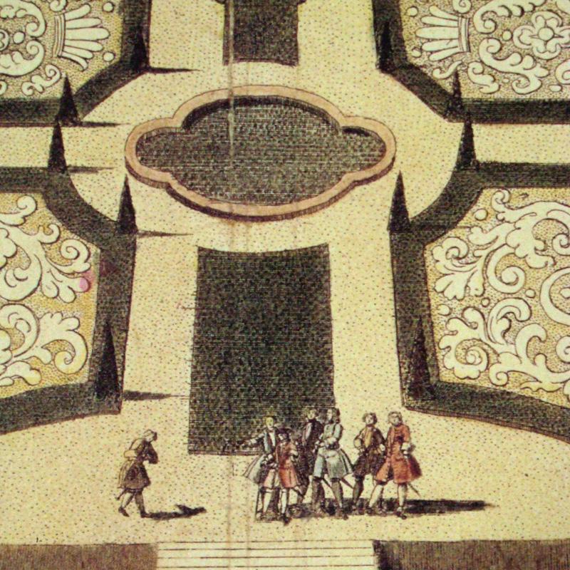 サンスーシ宮殿(クノーベルスドルフ)