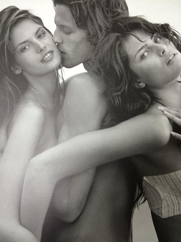 アレッサンドラ・アンブロジオ/イザベリ・フォンタナ/ピレリ2003年(ブルース ウェーバー)