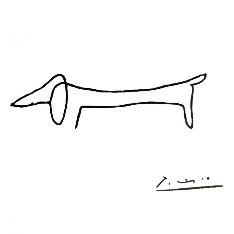犬(パブロ ピカソ)