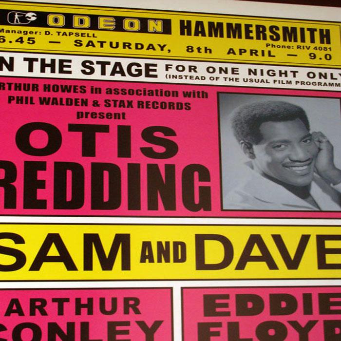 オーティス レディング、ロンドン(イギリス)1967(オーティス レディング)【f】