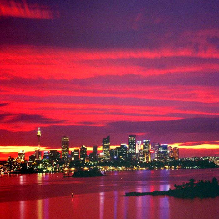 シドニー、オーストラリア(Night)(ジェームズ ブレークウェイ)