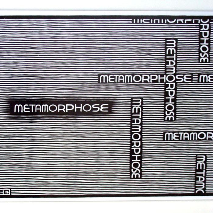 Metamorphosis no1(MC エッシャー)【f】