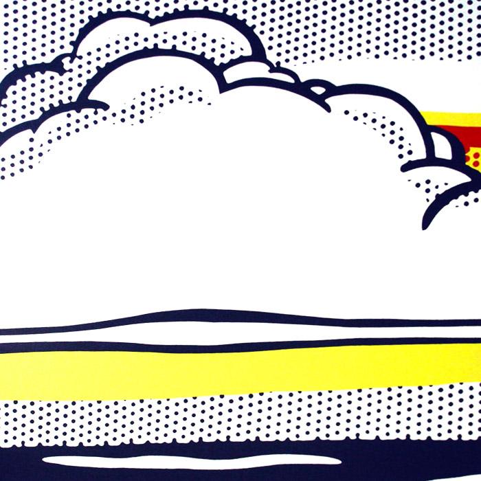 Cloud And Sea 1964(ロイ リキテンスタイン)【f】