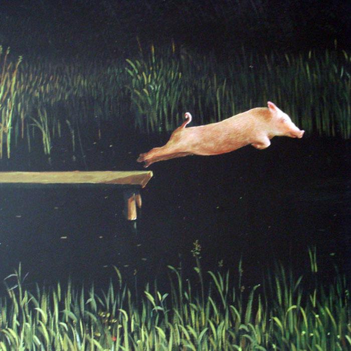 Diving Pig(ミヒャエル ゾーヴァ)【f】