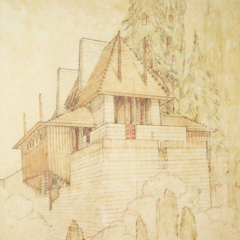 Lake Tahoe Summer Colony California(フランク ロイド ライト)【f】