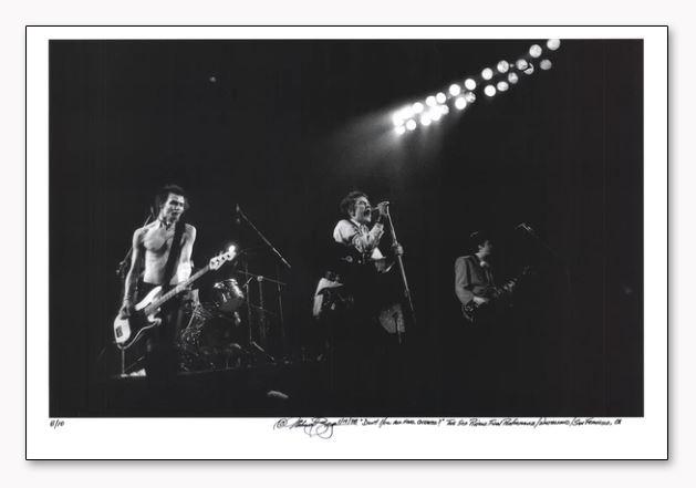 Sex Pistols 手書きナンバリング限定10枚/サイン入り(マイケル ザガリス)