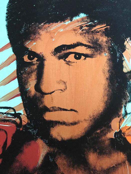 モハメド アリ 1977(アンディ ウォーホル)