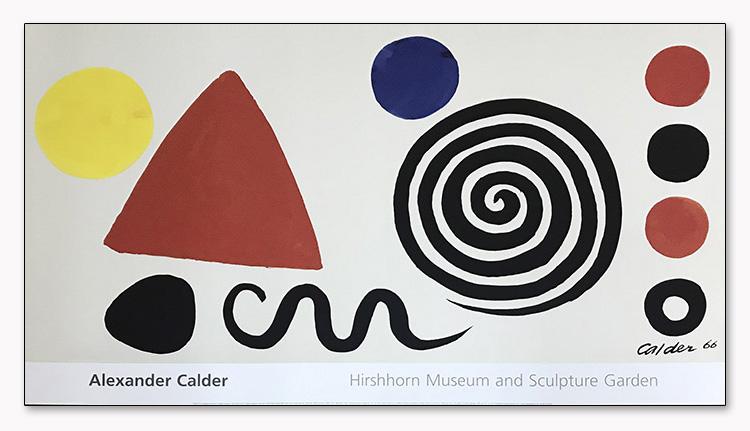 Abstraction 1966(アレクサンダー カルダー)