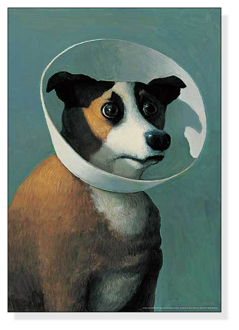 Dog with Cone(ミヒャエル ゾーヴァ)
