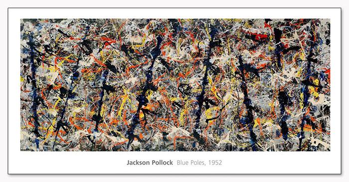 Blue Poles 1952(ジャクソン ポロック)