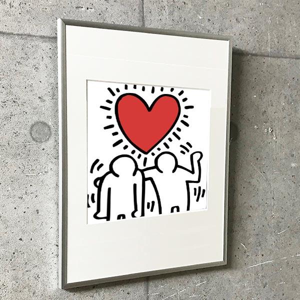 特別額装マット作品/アートポスター/KH03(キース ヘリング)