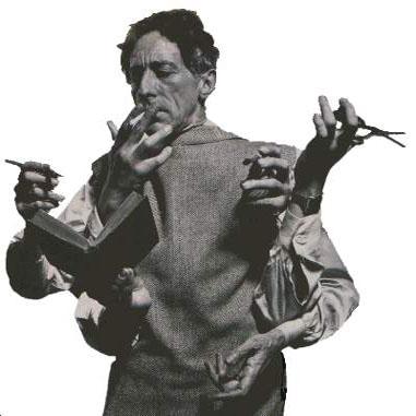 竪琴をもつオルフェ(ジャン コクトー)