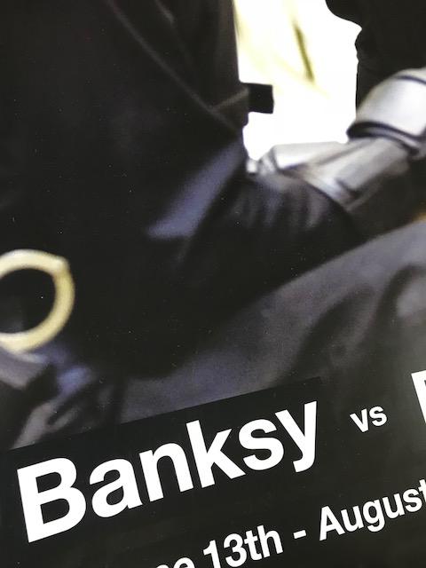 banksy bristol museum poster(バンクシー)