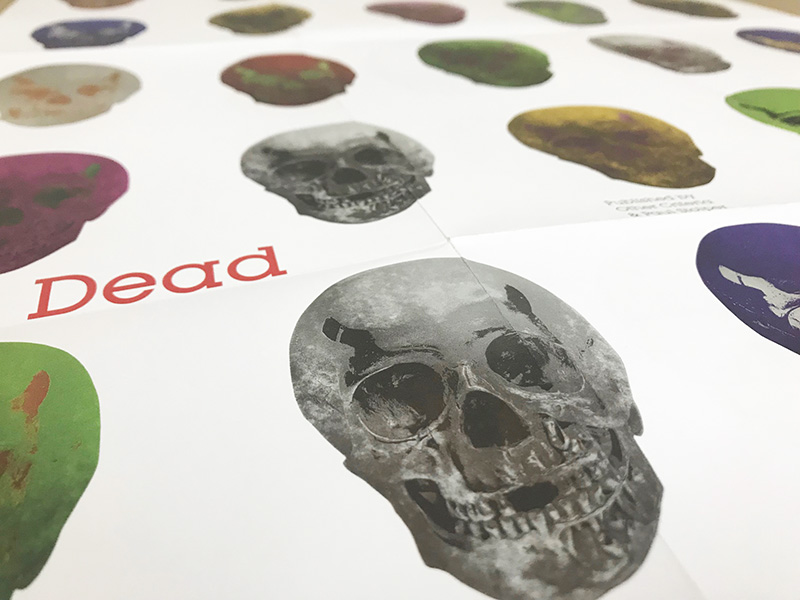 The Dead Folded promotional 2009年(ダミアン ハースト)