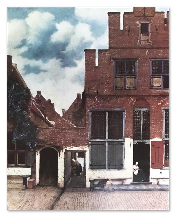 The Little Street 1658(ヨハネス フェルメール)