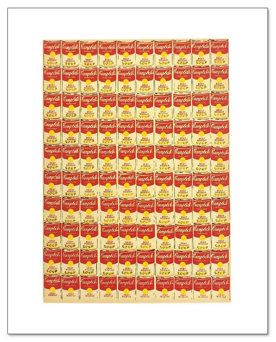 100 Campbells Soup Cans(アンディ ウォーホル)