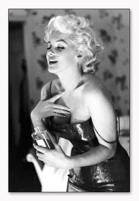 Marilyn Monroe シャネル 5番(エド フィンガーシュ)