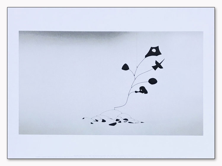 特別額装マット作品/Untitled 1945/カルダー(アレクサンダー カルダー)