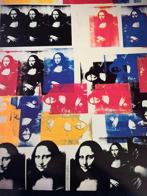 Mona Lisa 1963(アンディ ウォーホル)
