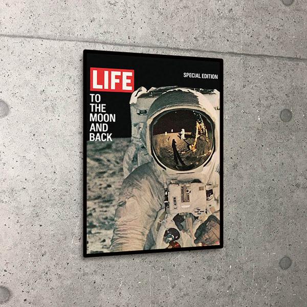 額装済30%OFF/life To the Moon and Back/アームストロング/ポスター(アームストロング)