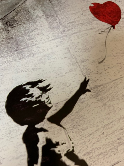 Red Balloon(バンクシー)