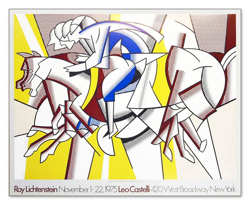 Leo Casteil 1975(ロイ リキテンスタイン)