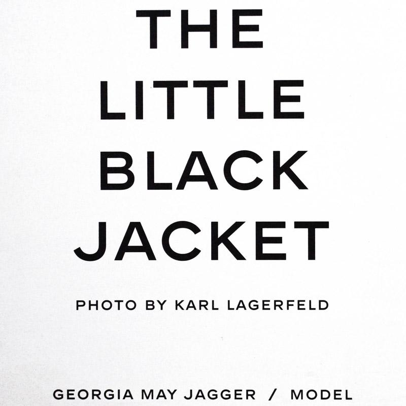 シャネル The Little Black Jacket 水原 希子(カール ラガーフェルド)
