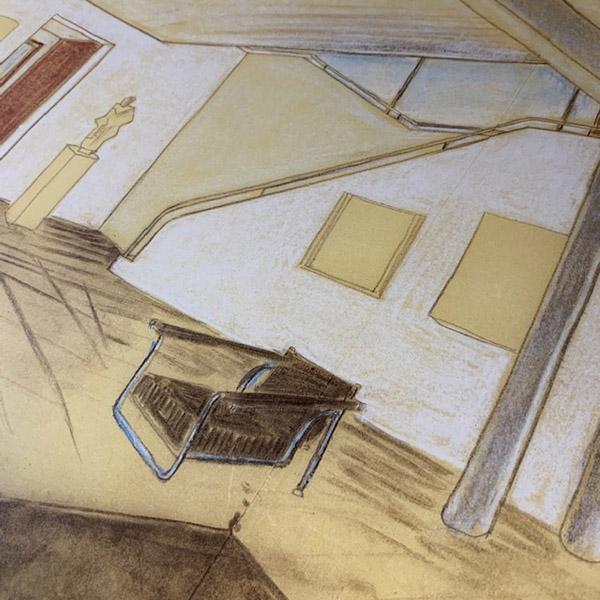 Interieur Villa Church 1927(ル コルビジェ)【f】