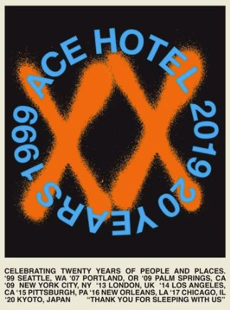 Ace Hotel XX Collection 20周年限定(エースホテル)
