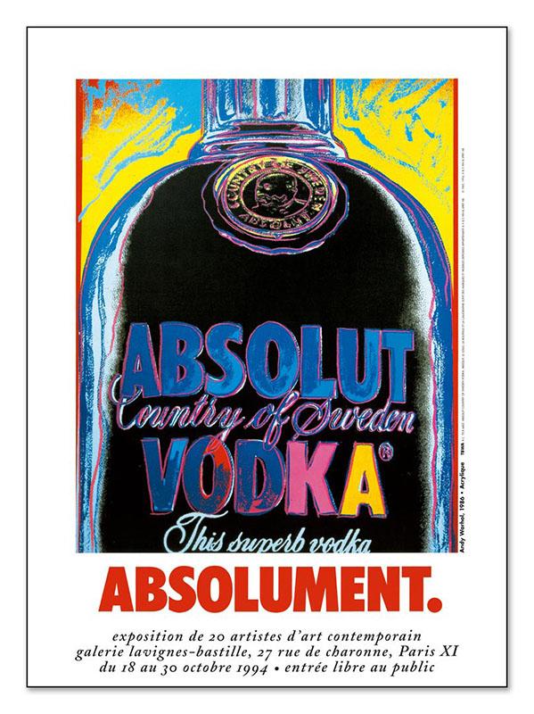 Absolut Vodka 1994(アンディ ウォーホル)