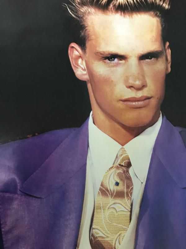 Versace Man(ブルース ウェーバー)