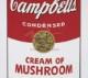 Campbell s Soup I Cream of Mushroom 1968(アンディ ウォーホル)