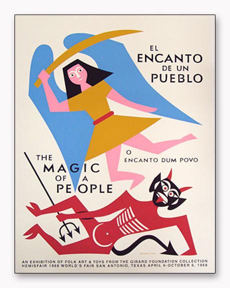 アレクサンダー・ジラード The Magic of a People 1968 Reprint (アレクサンダー ジラード)