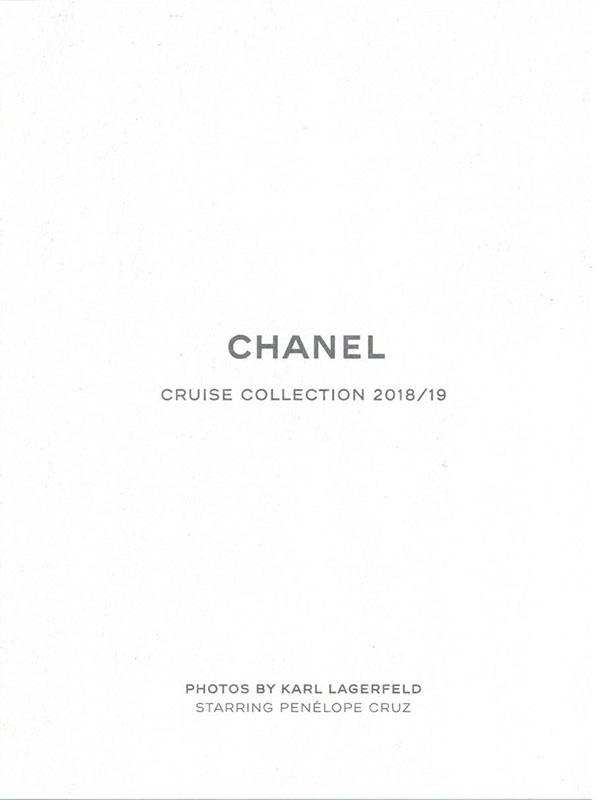 2018/19  CHANEL PENELOPE CRUZ /KARL LAGERFELD(カール ラガーフェルド)