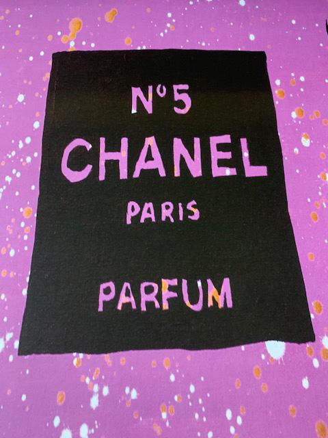 特別額装品/30%OFF/Chanel Purple Urban Chic