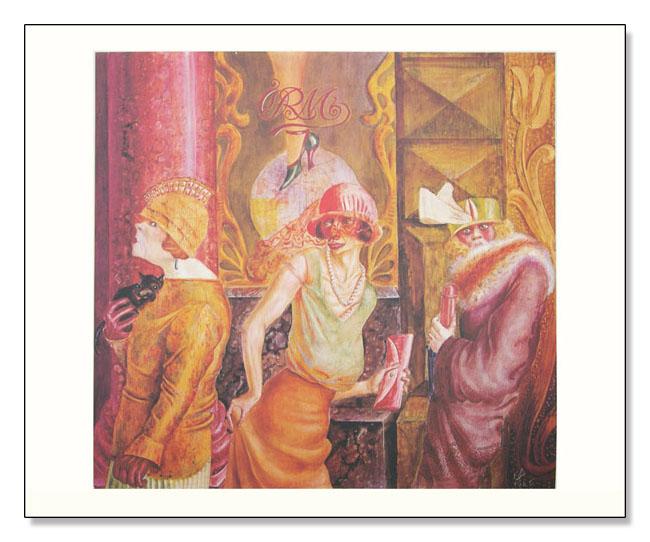 Trois Prostituees Dans LA Rue  1998(オットー ディクス)
