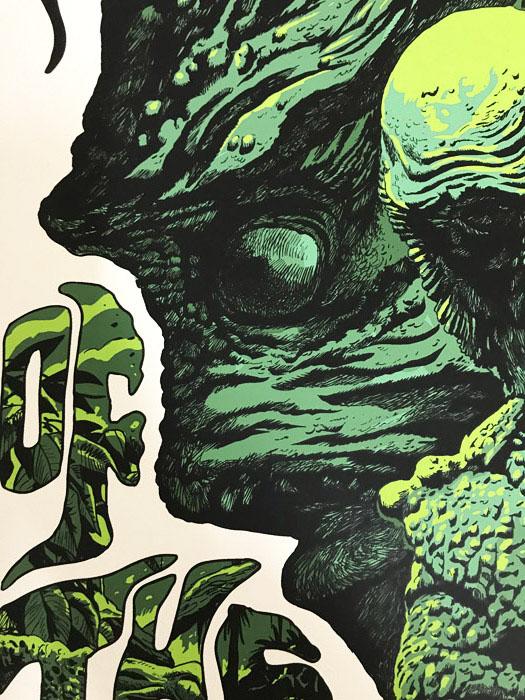 Mondo 半魚人の逆襲 限定275枚 手書きナンバリング入り/ポスター(フランチェスコ フランカビラ)