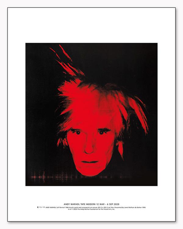 Self Portrait 1986 exhibition(アンディ ウォーホル)