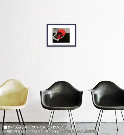 Skull (red) 1976 exhibition(アンディ ウォーホル)