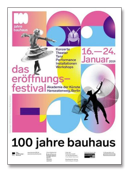 100 Jahre Bauhaus Festival 2019 white(バウハウス)