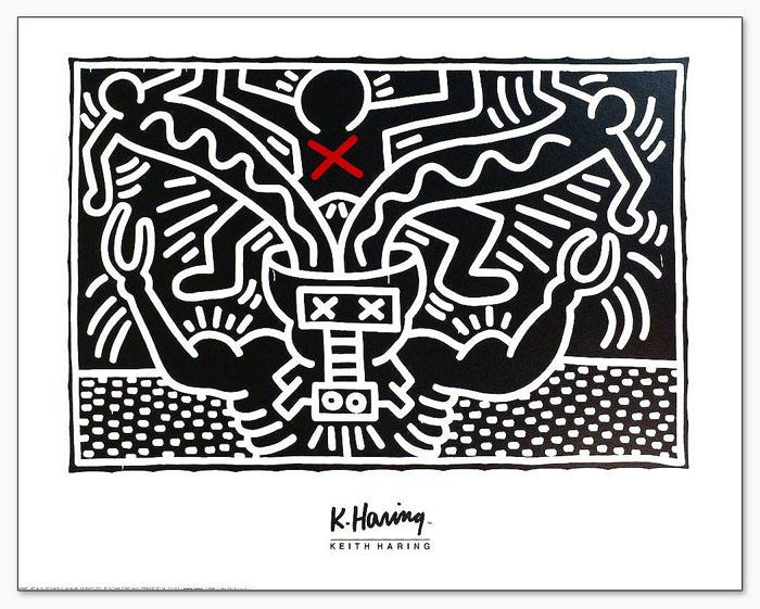 Untitled 1985(キース ヘリング)