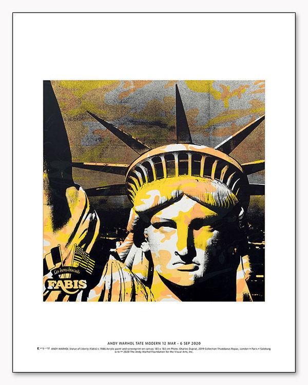 特別マット額装品/Statue of Liberty 1986 exhibition/ウォーホル(アンディ ウォーホル)