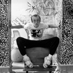 Untitled 1983年(キース ヘリング)【f】
