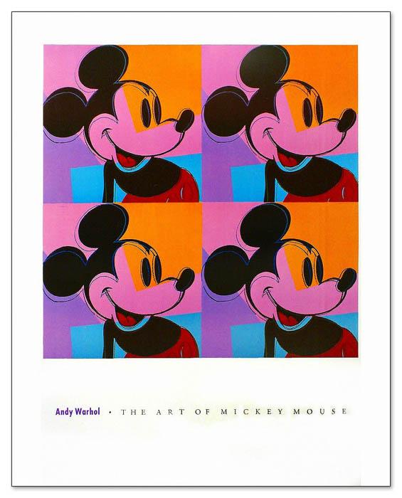 ミッキーマウス 1982(アンディ ウォーホル)