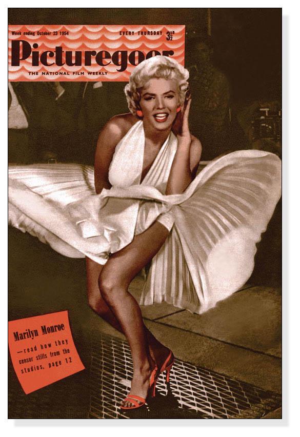 額装済30%OFF/Marilyn Monroe - Picturegoer - Dress/フォトグラフ/ポスター(フォトグラフ)