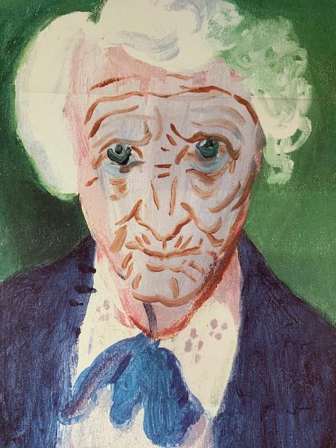 My Mother Bridlington 1988(デビット ホックニー)