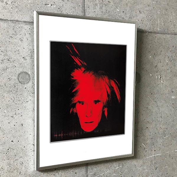 特別マット額装品/Self Portrait 1986 exhibition/ウォーホル(アンディ ウォーホル)
