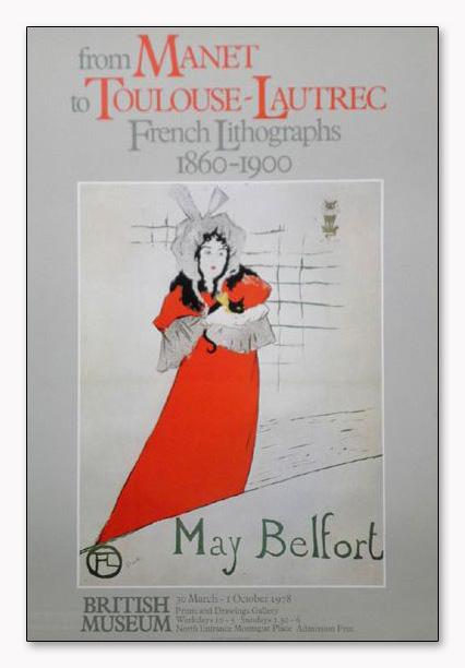 May Belfort(アンリ ド トゥールーズ ロートレック)