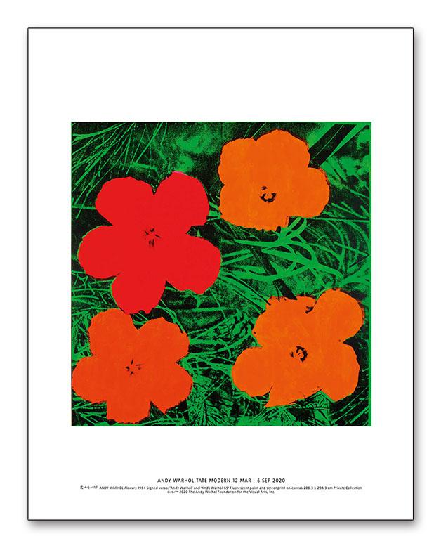 Flowers exhibition(アンディ ウォーホル)